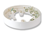 Standard-Sockel Ringbusmelder - reinweiß
