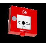 HFM NOTIFIER rot EN54-11 m. Isolator