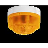 Opt. Alarmgeber weiss-amber